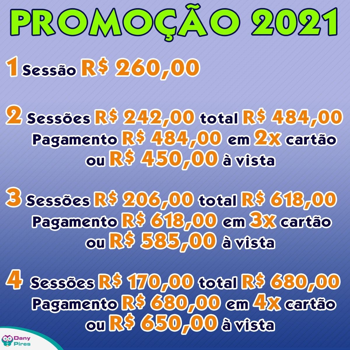 Promoção Janeiro de 2021