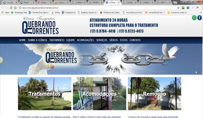 Clinica Terapêutica Quebrando Correntes - Clínica para Dependentes Químicos em Votuporanga na Região de São José do Rio Preto interior de São Paulo - Clinica para Drogados