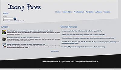 Daniela Pires | Professora e Programadora Web | Analista de Sistemas em PHP e Sistemas Web